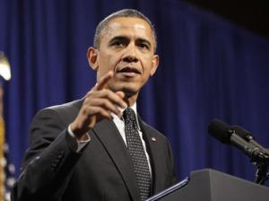 U.S. President Barack Obama. (Reuters / Jonathan Ernst)